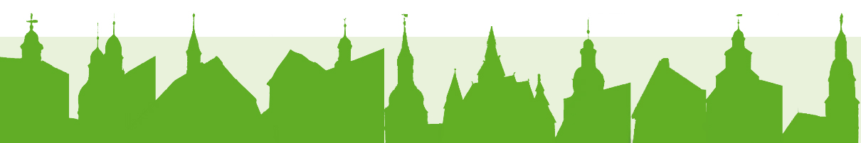 Turmsilhouetten der Kirche im Oberharz
